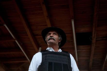 José Manuel Mireles, exvocero de las autodefensas. Foto: Germán Canseco
