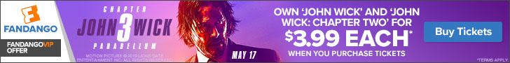 728x90 Fandango VIP+ Offer: John Wick
