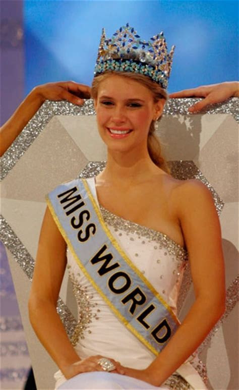 Inner Peace In Your Life: Miss World 2010 Alexandria Mills