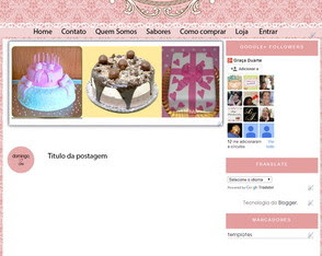 Template Cupcake
