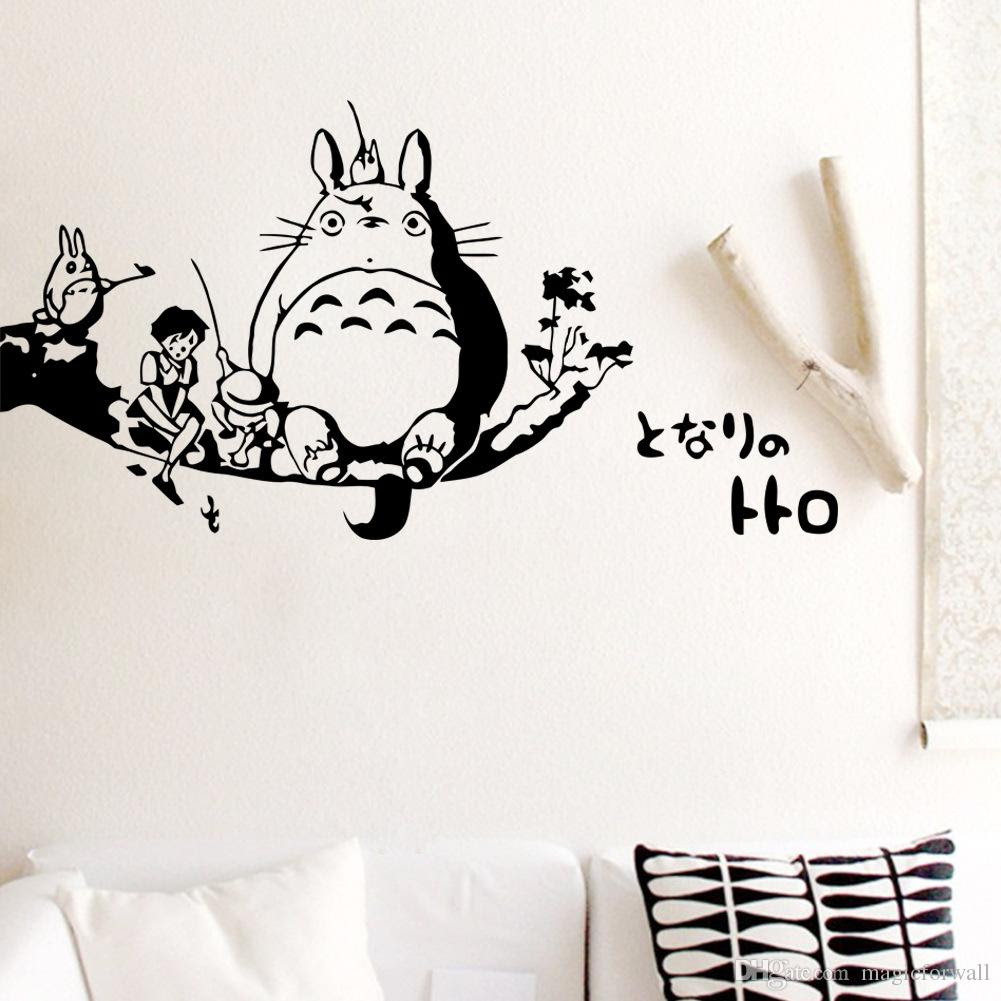 Totoro Wall Decal Sticker Kids Room Wall Decor Art Mural Poster