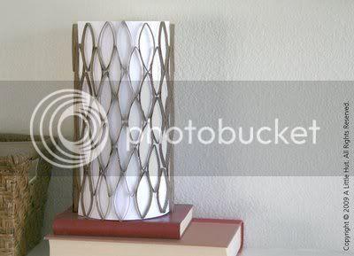 Cardboard Tube Lamp