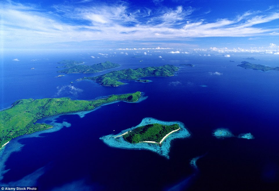 Locals refer to Palawan as the 'last frontier' because it's located on the southern tip of the Philippines, just north of Malaysia