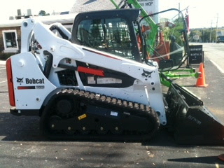 Bobcat Track Machine T590 Renovation Rentals
