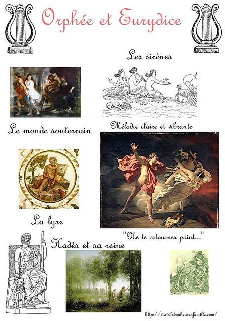 AAAAAAAAAAAAAAfiche Orphée et Eurydice