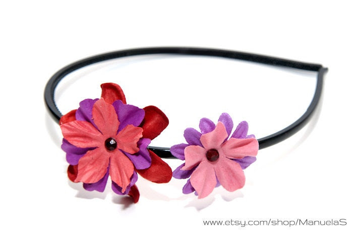 Something Sweet  - summer flower hairpiece, headband