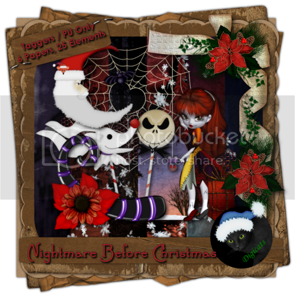 Nightmare Before Christmas Sampler