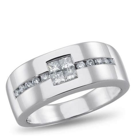 LUX3, Diamond Ring for him, 5/8 ctw.   2012 Jewelry Trends