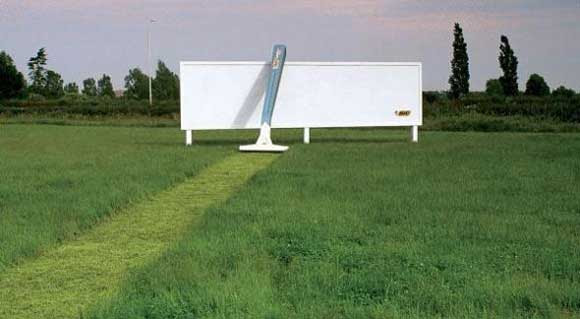 Bic Razor: creative billboard ads