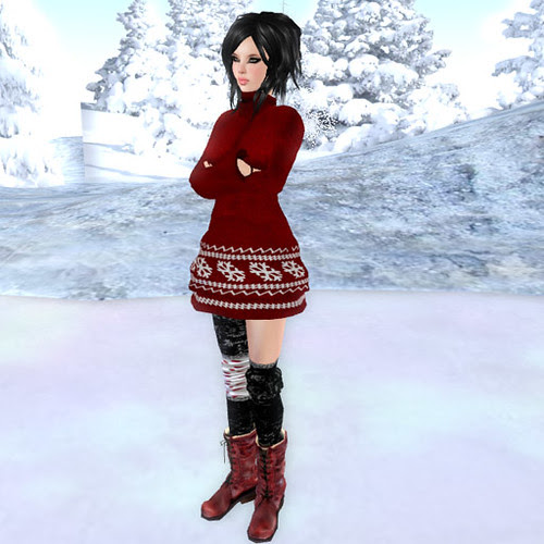 Nordic Knit Dress by 22769