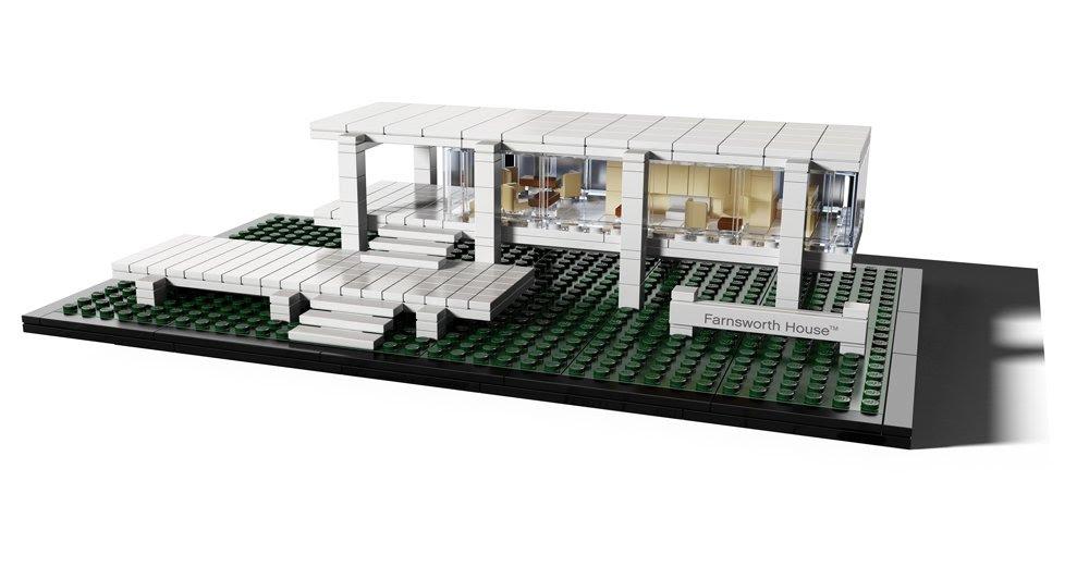 Amazon.com: Lego Architecture Farnsworth House Collectible - 21009 ...