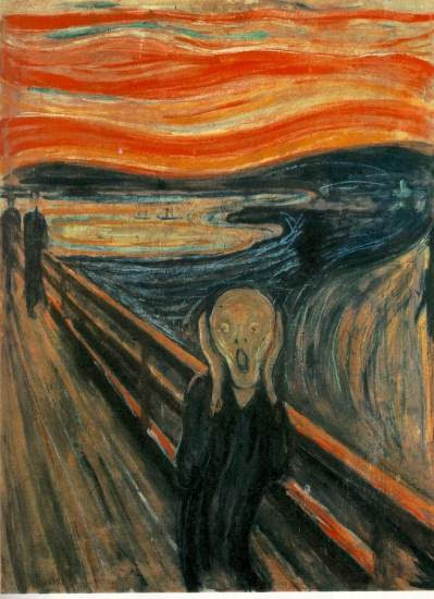 Edvard Munch — The Scream