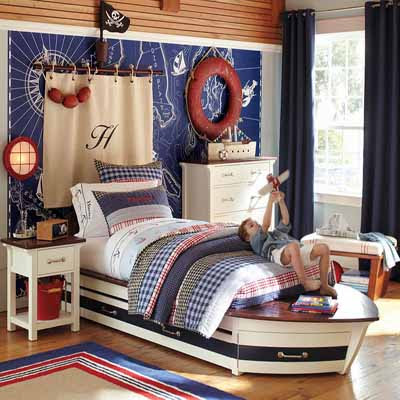 Kids Room Decorating Ideas on Decorating Ideas For Kids Rooms Neautical Bedroom Decor