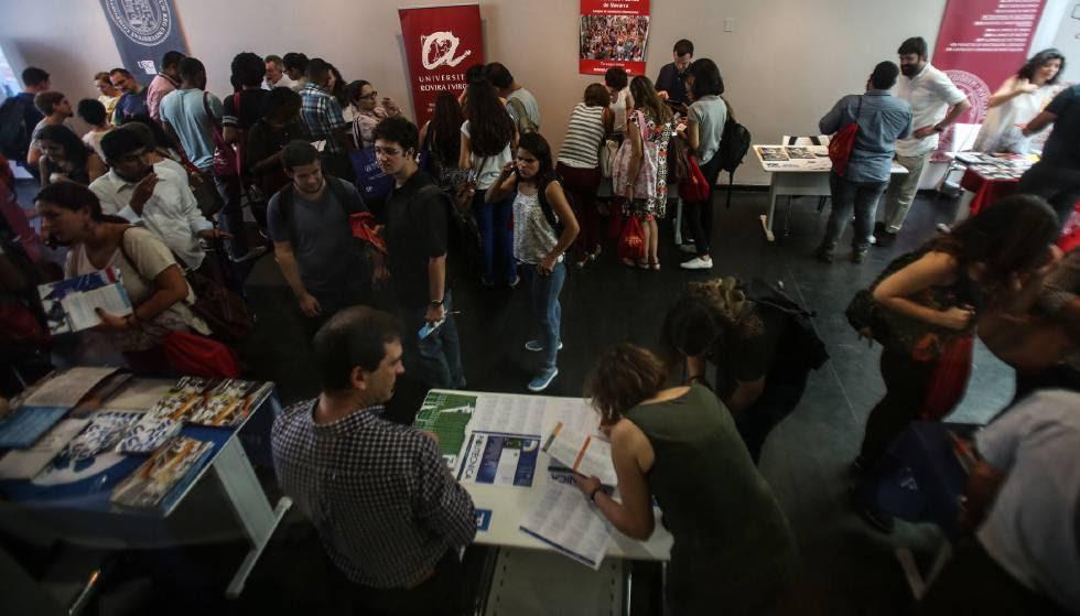 Instituto Cervantes do Rio de Janeiro, em 13 de março.