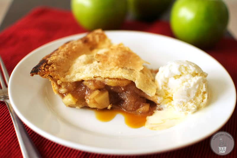 Semi-Homemade Apple Pie | Cupcake Diaries
