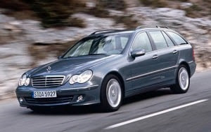 2005 Mercedes-Benz C-Class Wagon C240 Luxury What's it Worth?