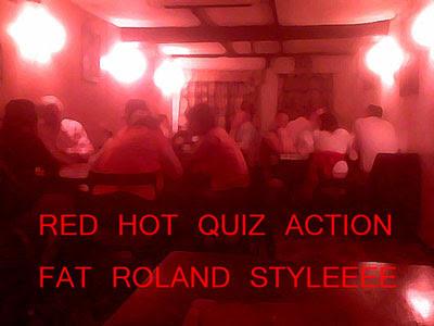 Pub quiz red styleee