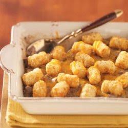 Tater Tot Casserole - Low Fat Recipe - Details, Calories ...