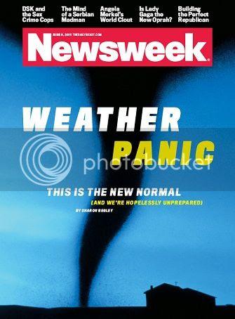 Newsweek Weather Panic cover