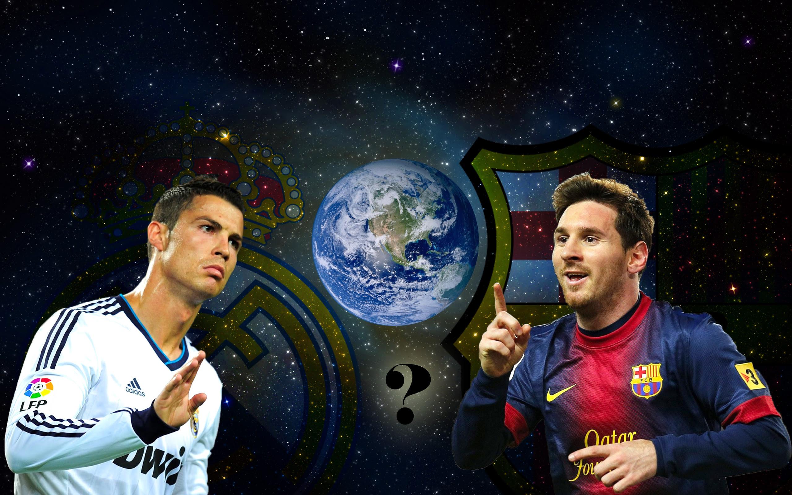 Messi Vs Ronaldo Wallpaper Hd Football