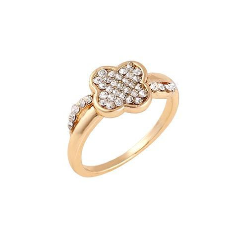 2018 Latest Design Rose Gold Plated Womens Engagement