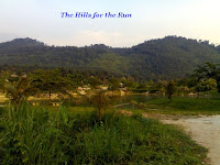 The hills for the run