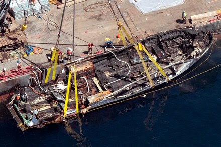 California Boat Captain Charged With Manslaughter in Fire That Killed 34