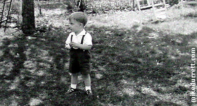Mike Durrett enters the wilds of an Easter egg hunt, his first.