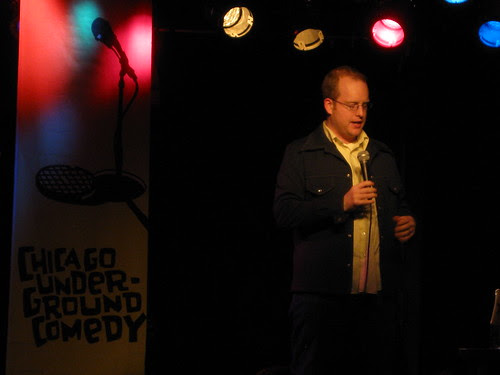 Sean Flannery @ Chicago Underground Comedy March 31, 2009