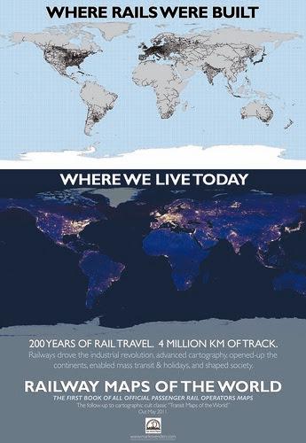 Railway Maps of the World  launch flyer