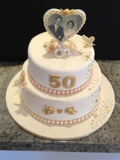 Decorations for 50th Wedding Anniversary Cakes   Wedding