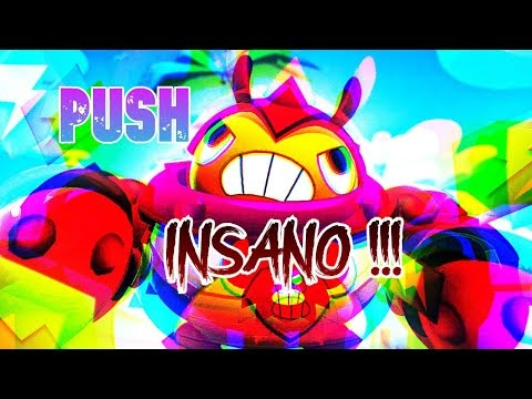 PUSH INSANO COM TICk - BRAWL STars