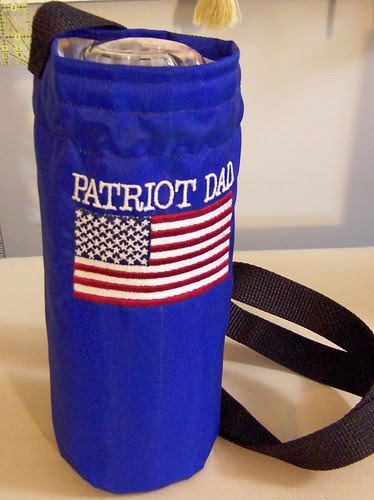 Patriot Dad bottle carrier