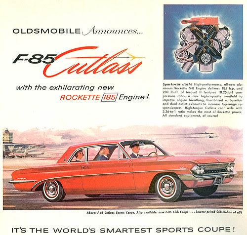 Hight Performance Best Car: 1961 Oldsmobile Cutlass