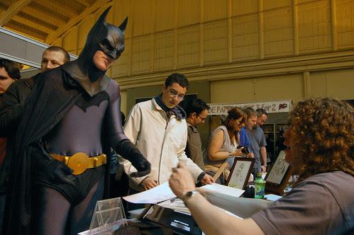 Batman Gets A Sketch