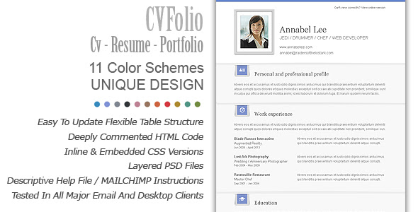 code php themes  charismatic emailer email newsletter