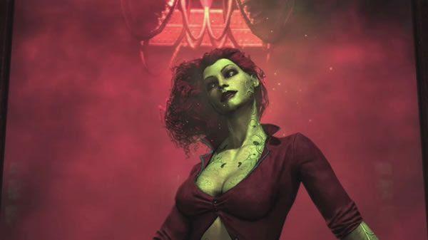 """poison ivy batman arkham asylum. But """"Arkham Asylum"""" isn#39;t a"""