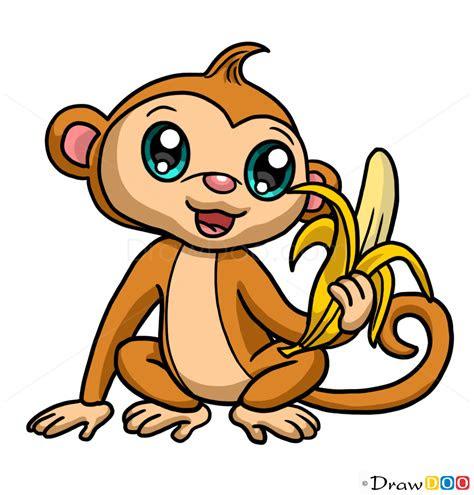 monkey drawing   draw cute anime animals