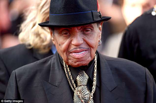 RIP: Joe Jackson (above in 2014) has passed away at the age of 89 one week after he was hospitalized with stage four pancreatic cancer
