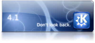 KDE 4.1 - Don't Look Back!