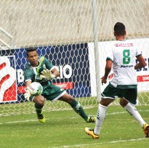 Diogo Silva, goleiro do Luverdense (Foto: Maico Gaúcho/Luverdense EC)