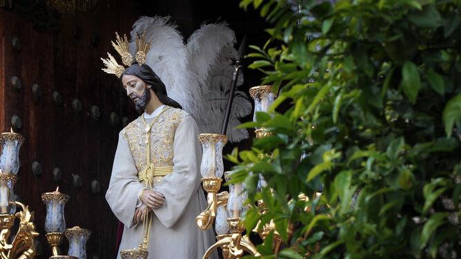 Imagen de Nuestro Padre Jesús del Consuelo que en la tarde noche de hoy presidirá el vía crucis organizado por la familia mercedaria de Jerez.