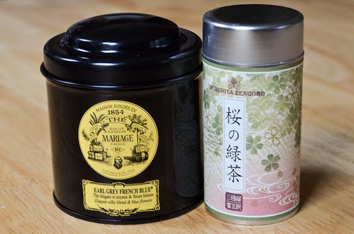 Mariage Frere's Earl Grey French Blue Tea