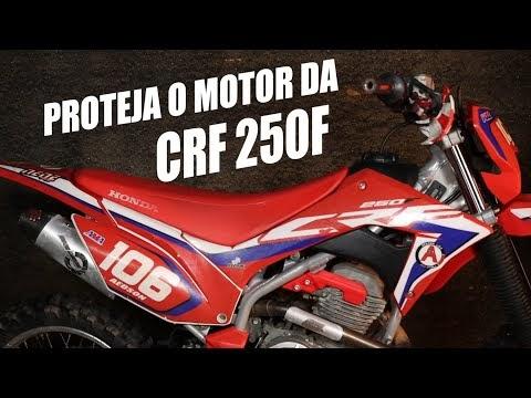 Proteja o motor da sua CRF 250F