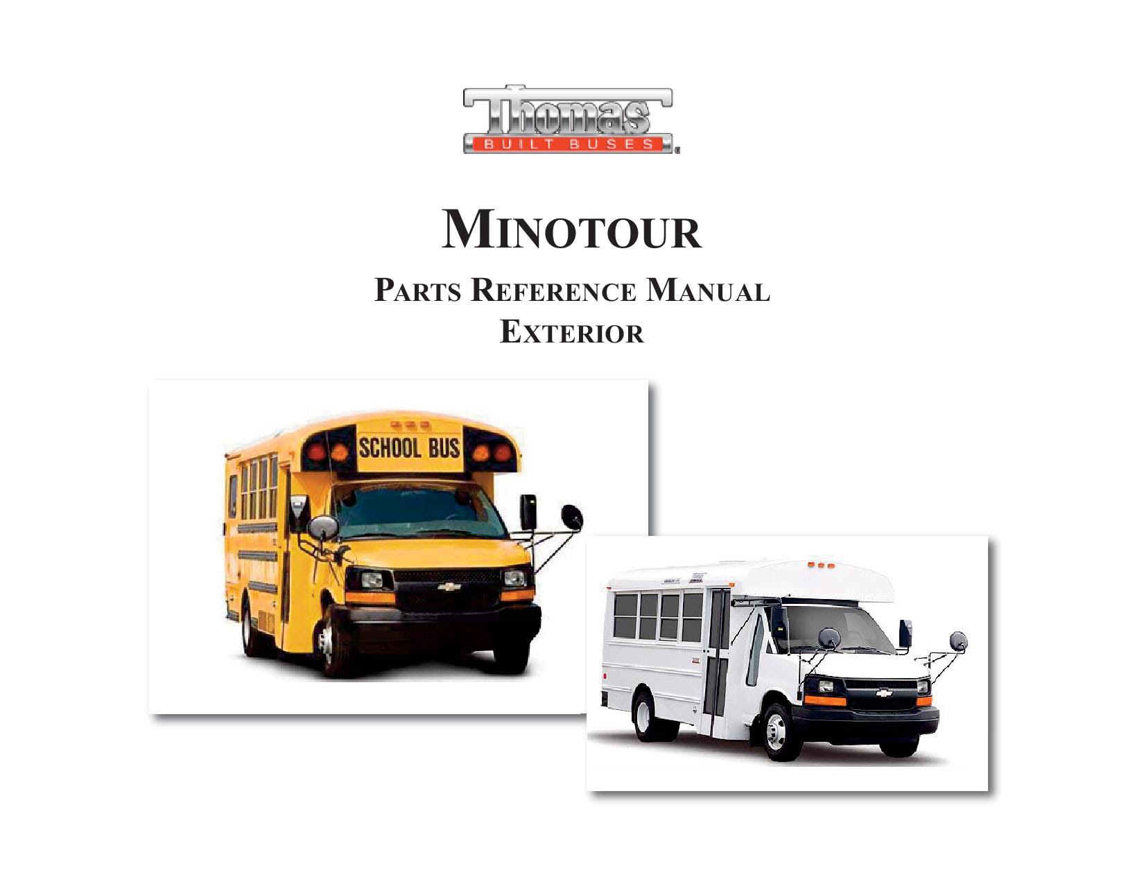 School Bus Parts Diagram