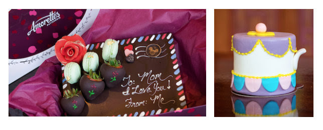 Mother's Day Treats at Amorette's Patisserie ©Disney