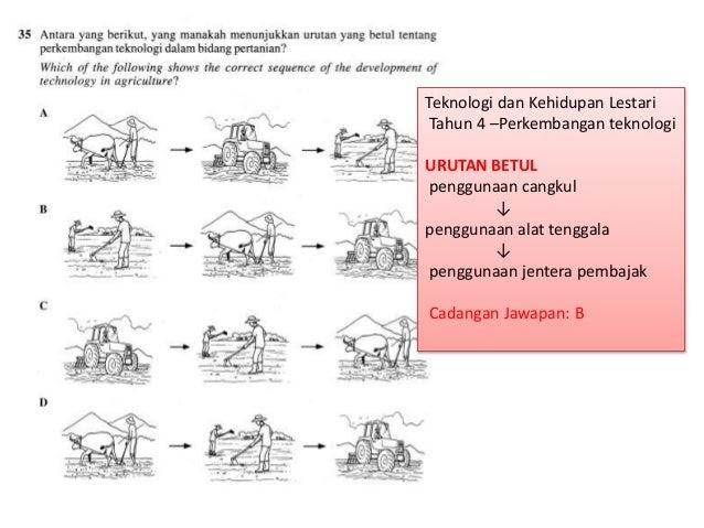 Soalan Sains Tahun 4 Teknologi Terengganu R