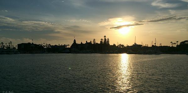 San Diego Sunset with Hotel Del Cornoado