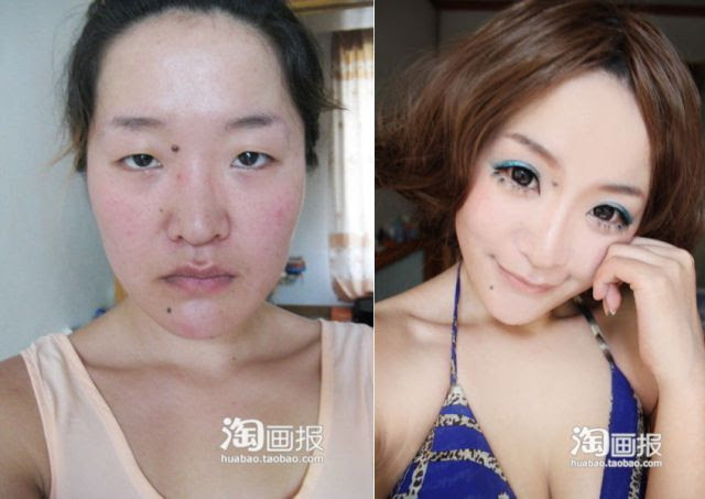 How Makeup Transformed This Girl