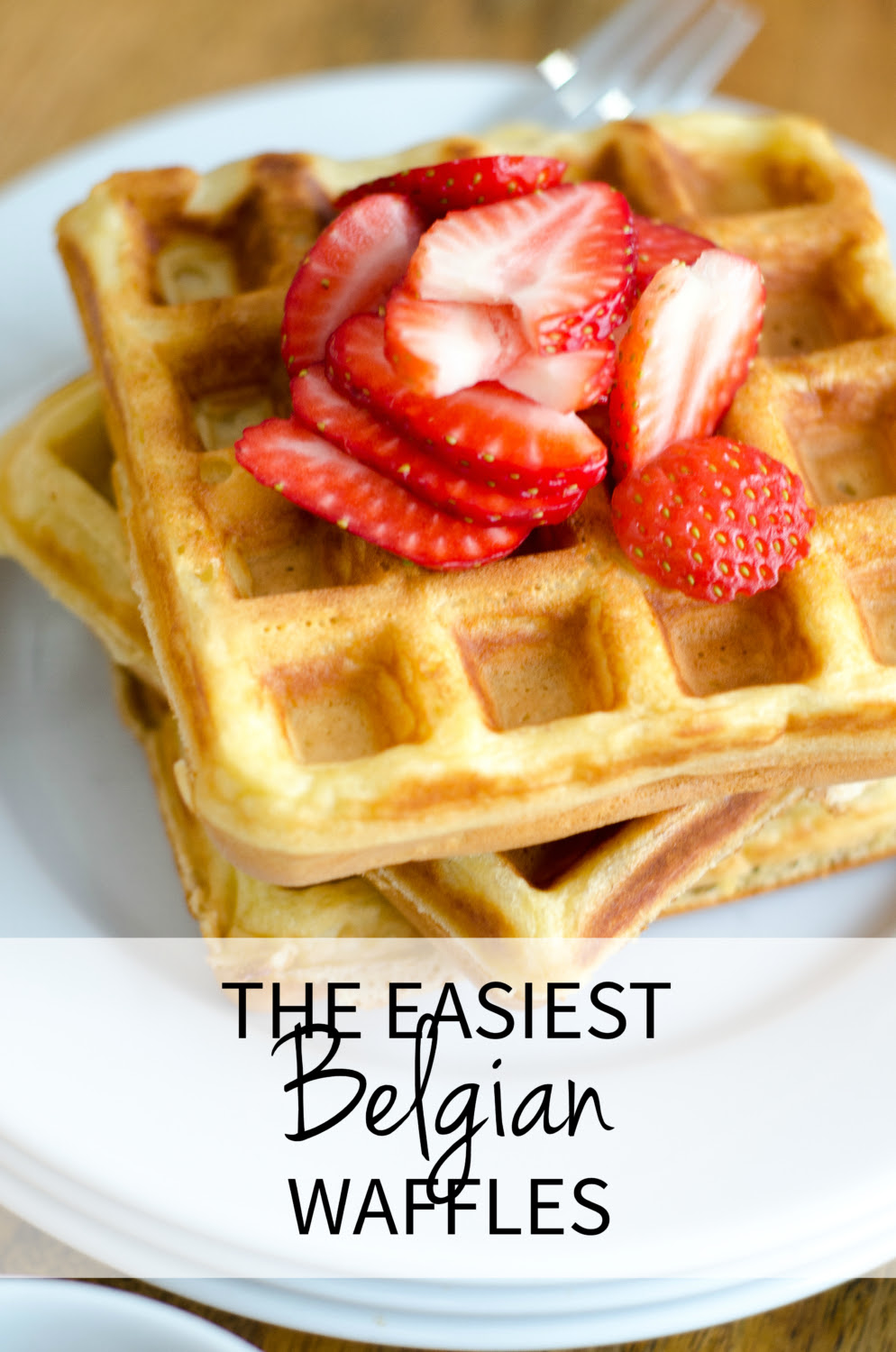 The BEST Easy Belgian Waffle Recipe - The Chronicles of Home